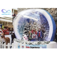Quality Custom Outside Infinity Products Inflatable Snow Globe for sale