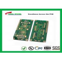Quality Hard Drive Bare Quick Turn Printed Circuit Boards With 2l Fr4 Material 0.8mm Flash Gold 1oz for sale