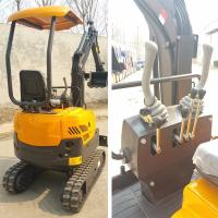 China Factory Supply 1.5T Small Hydraulic Crawler Digger For Samll Works trench digging and plant trees for sale