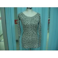 Quality Cotton Blends Ribbed Fashion Pullover Sweaters For Young Girls Full Stars Printing for sale