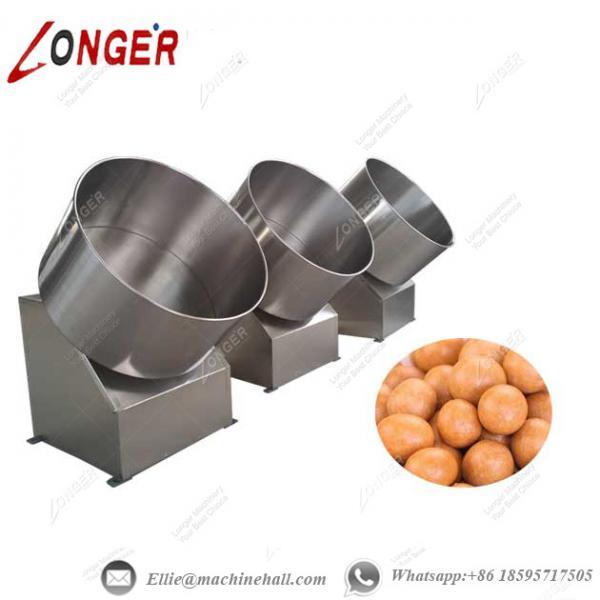 flour coated peanut coating machine