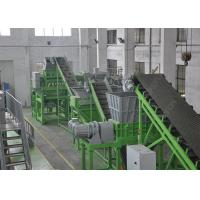 Quality 1000 Kg / H Waste Tyre Recycling Machine , Big Fat Tire Recycling Production Line for sale