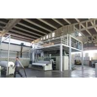 China CE  Approved PP Spun Bond Non Woven Machines Low pollution S , SS , SMS , SSMMS on sale