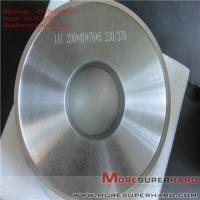 Quality 1A1 200*40*76*5 Metal bond Grinding wheels for magnetic materials ALisa@moresuperhard.com for sale