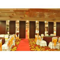 Quality Wooden Sliding Partition Walls Hanging Office Partition System For Banquet Hall for sale
