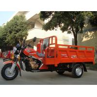Gasoline 200CC Cargo Tricycle Chinese 3 Wheeler With Double Railings / Side Seats for sale