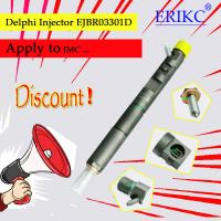 Quality JMC ERIKC EJB R03301D diesel fuel engine CR injector 3301D , complete body common rail injector assembling EJBR0 3301D for sale
