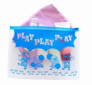 Quality BPA - Free EVA Reusable Ziplock Bags Slider Bag Easy Opening With Gusset Bottom for sale