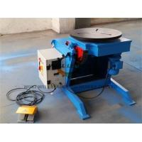 China Light Duty Rotary Welding Positioner , Welding Rotating Table For Tube Welding Industry on sale