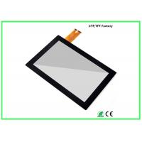 IIC Interface 10.1 Inch Small Touch Panel G+G Structure With 10 Points