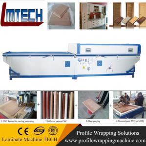 Quality sliding wardrobe doors vacuum membrane press machine for sale