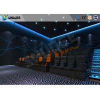 Quality ISO Certificate 4D Dynamic Cinema Equipment With Pneumatic Customize Motion Chairs for sale