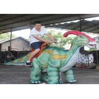 Quality Coin Operated Walking Dinosaur Rides Waterproof For Kids Amusement Park for sale
