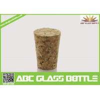 Buy cheap Wholesale wooden synthetic round small glass bottle wooden cork manufacturers, from wholesalers