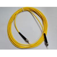Quality Fiber Optic Patch Cord ST-ST Single mode , Simplex(SM SX) easy for operation for FTTX + LAN for sale