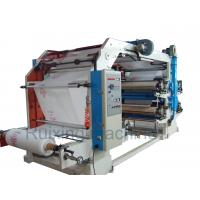 Quality CE Certificated High Speed non woven bag printing machine in Red Blue Purple Yellow for sale