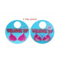 Buy 3D Flip Changing Hangtags Lenticular Printing Services Swing Tag for Clothes at wholesale prices