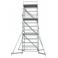 Quality Lightweight Adjustable Galvanized Steel Scaffolding Of The Working Platform for sale