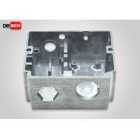 China Alloy Gravity Diecast Aluminum Enclosures Customized Size Silver Color on sale