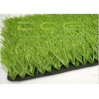 Quality Realistic Looking Artificial Grass Football / Synthetic Soccer Grass High Durability for sale