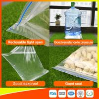Buy Packing Ziplock Bags Customized LDPE polybags food packing clear grip seal at wholesale prices