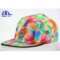 Quality Lady's Fashion Custom 5 Panel Cam Snapback Cap for sale