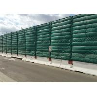 Buy Noise absorption and insulation PP plus PET materials Temporary Noise Barriers at wholesale prices
