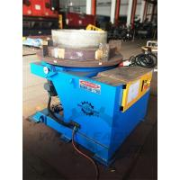 Buy 2000 Kg Carring Rotary Welding Positioner 1100mm Table Slotted 300mm Gravity at wholesale prices