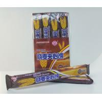 Quality OEM 15g Crispy Wheat Sandwich Biscuits / Crispy and nice taste with chocolate&milk flavor for sale