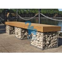 Quality Easy Installation Steel Gabion Baskets Welded Stone Gabion Chair For Landscape for sale