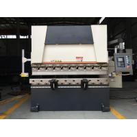 Quality 30T Hydraulic Press Brake Machine Customized Color With 1600mm Length Worktable for sale