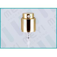 Quality Aluminium Crimp Bottle Spray Pump For Perfume Sprayer / Air Fresheners Sprays for sale