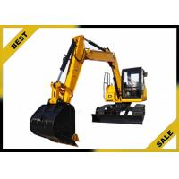 Quality 18.4kw Engine Power Mini Construction Equipment Excavator With 3 Cylinder High Performance for sale