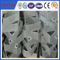 Quality OEM industrial aluminium extrusion profile,Aluminium profile for cnc drilling/bended for sale