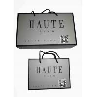 Quality Custom Printed Luxury Shopping Paper Bag with Logo for Clothing Packaging for sale
