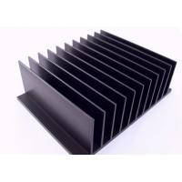 China 6005 , 6060 Anodized Aluminum Heatsink Extrusion Profiles For Medical Equipment / CPU Cooler on sale