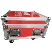 Quality Luminous And Reflective Spot Red Rack Flight Case , Twelve Channel Motor Chain Hoist Power Case for sale