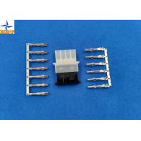 Quality 5.08mm Pitch Female Connector  Male Crimp Housing 4 Circuits with tin-plated Brass Contact for sale