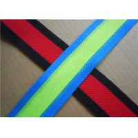 Buy Christmas Fabric Woven Jacquard Ribbon Polyester Decorative at wholesale prices
