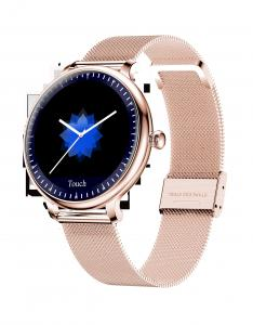Quality Round Touch Screen ROHS Ladies Bluetooth Smart Watch for sale