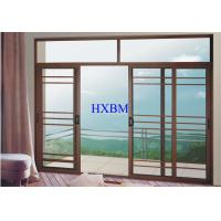 Villas Apartments Aluminum Sliding Windows With 6mm Tempered Glazing for sale