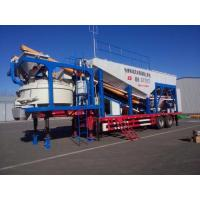 China Mobile Concrete Mixing Plant on sale