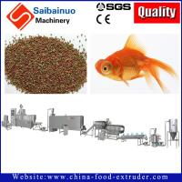 Quality fish food fish feed processing line making machine for making fish food for sale