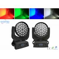 Buy LED 36pcs 10Watt Wash Beam Moving head Light With RGBW 4 In 1 Color at wholesale prices