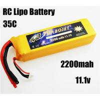 Quality 11.1v 2200mah 35c Lithium Polymer Battery for RC airplane,RC car,RC boat,good quality for sale