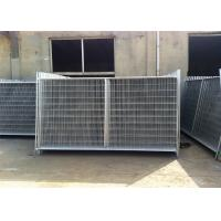 Quality 2.1m x 3.3m 3.5m widht Auckland temp construction site secuirty fence for sale