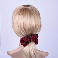 Quality Soft Fabric Elastic Hair Scrunchies For Both of Ladies and Women Pony Tail Holder for sale