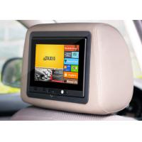 China 7 inch wifi 3G Android car advertising tablet with headrest and update the content automatically on sale