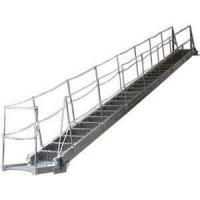 Quality Fixed Inclined Steel  / Aluminum Alloy Marine Boarding Ladder Accommodation Ladder for sale