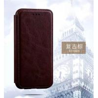 Quality Samsung S8 Magnetic Leather Case Full Protection Business Use Side Flip for sale